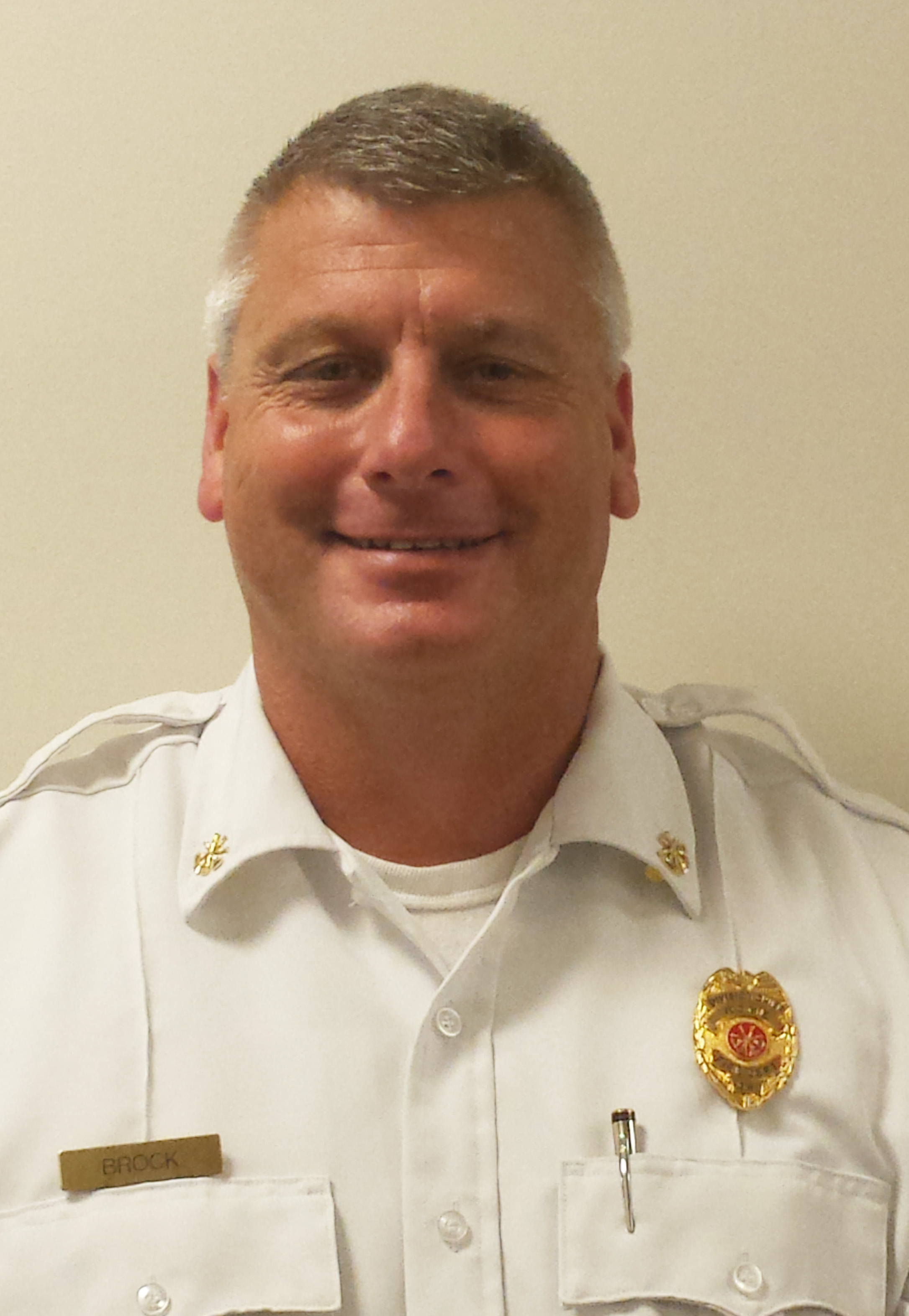Troy Brock Fire Chief